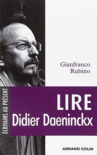 9782200243289: Lire Didier Daeninckx