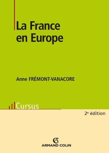 9782200243364: La France en Europe (French Edition)