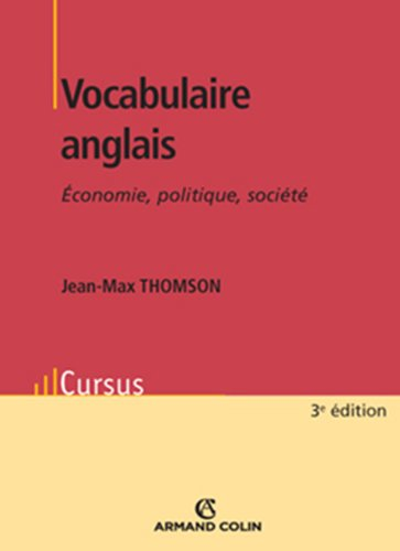 9782200243463: Vocabulaire Anglais