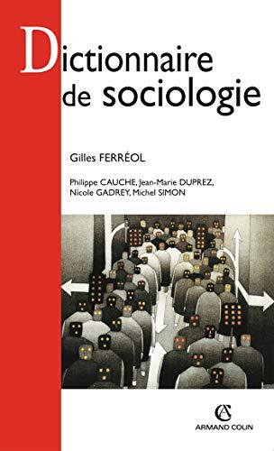 9782200244293: Dictionnaire de sociologie