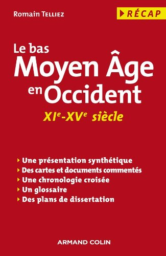 9782200248840: Le bas Moyen Age en occident (XIe-XVe siecle) (French Edition)