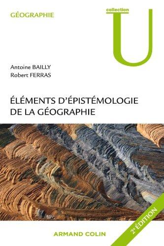9782200249342: Eléments d'épistémologie de la géographie