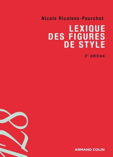 9782200249366: lexique des figures de style (2e édition)