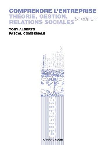9782200249991: Comprendre l'entreprise: Théorie, gestion, relations sociales (Cursus)