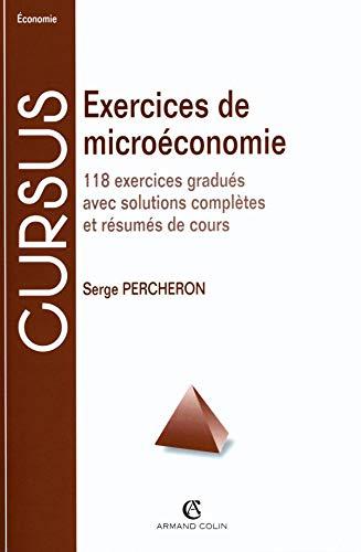 9782200250003: Exercices micro�conomie, 7e �dition