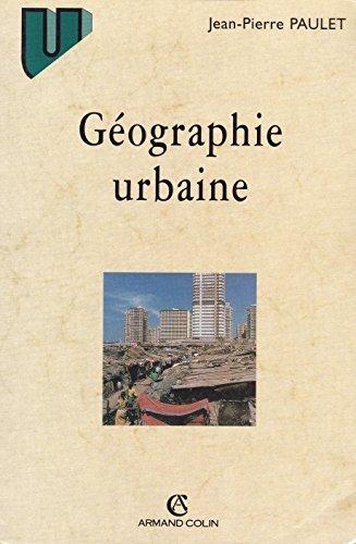 9782200250447: Géographie urbaine