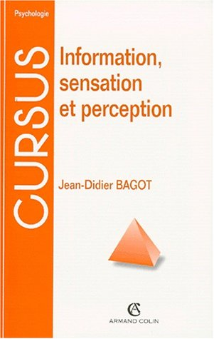 9782200250683: Information, sensation et perception