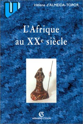 9782200250973: L'Afrique au XXe siècle