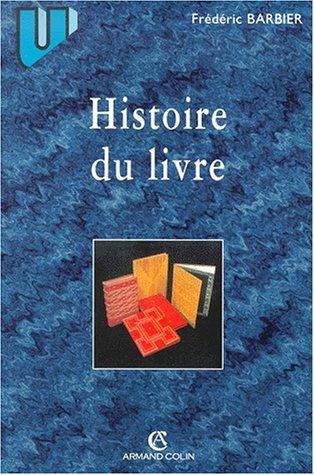 9782200252250: Histoire du livre
