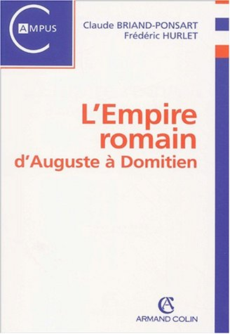 9782200252595: L'empire romain. d'auguste a domitien