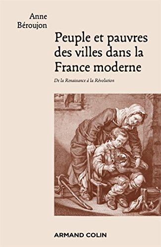 9782200255091: Peuple et pauvres des villes dans la France moderne - De la Renaissance � la R�volution
