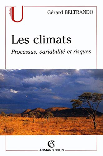 9782200262389: Les climats : Processus, variabilité et risques