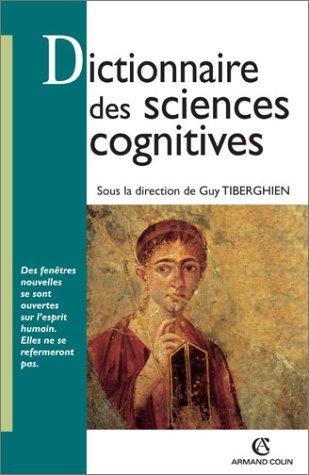 9782200262471: Dictionnaire des sciences cognitives