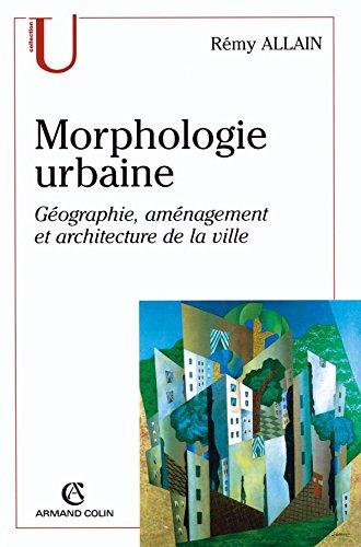 9782200262624: Morphologie urbaine (French Edition)