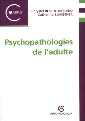 9782200264727: Psychopathologies de l adulte