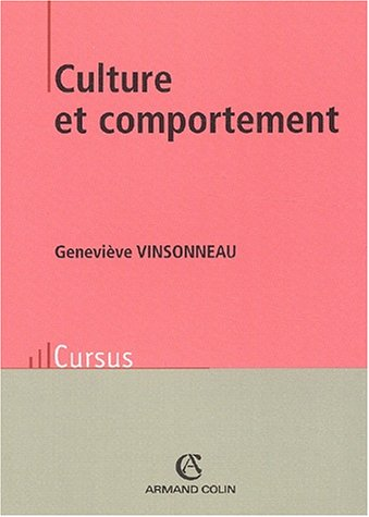 9782200265472: Culture et comportement 2e édition