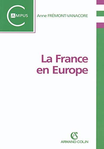 9782200266042: La France en Europe