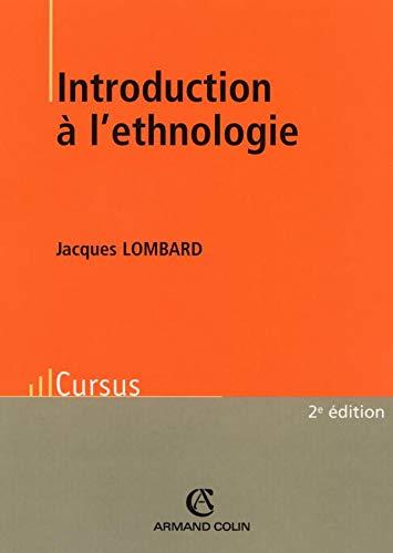 9782200267186: Introduction � l'ethnologie
