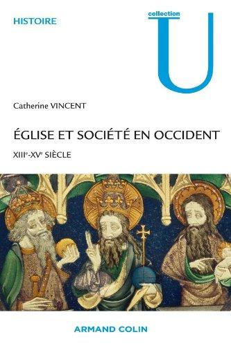 9782200267636: Eglise et Société en Occident XIIIe - XVe siècle (French Edition)