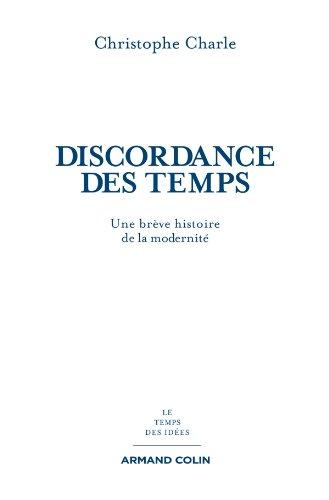9782200271916: La discordance des temps (French Edition)