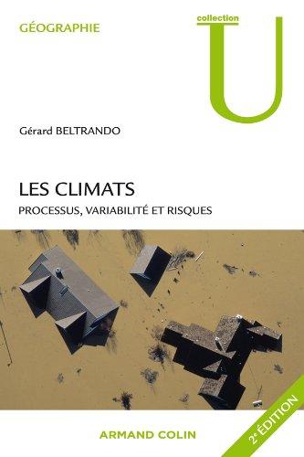 9782200272616: Les climats: Processus, variabilité et risques