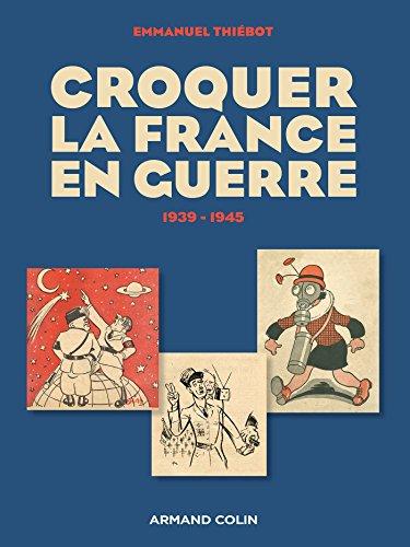 9782200279806: Croquer la France en guerre 1939-1945