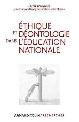 9782200280581: Ethique et déontologie dans l'Education nationale