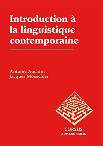 9782200286101: Introduction à la linguistique contemporaine