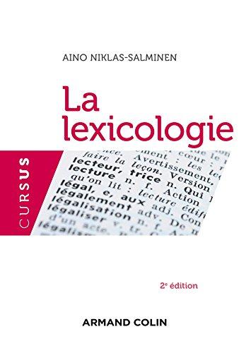 9782200286118: La lexicologie - 2e édition