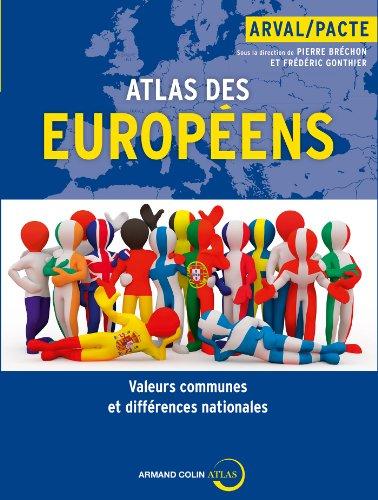 9782200287818: Atlas des Europ�ens: Valeurs communes et diff�rences nationales