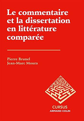 9782200291266: Le commentaire et la dissertation en littérature comparée