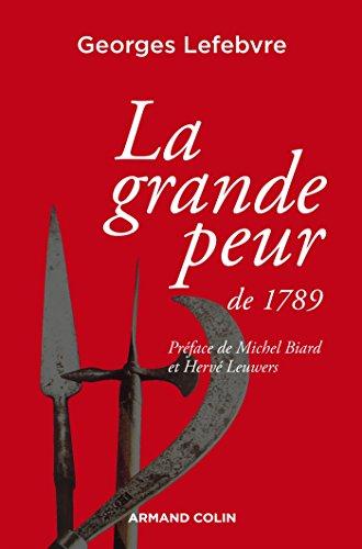 9782200293048: La grande peur de 1789: Suivi de Les Foules révolutionnaires