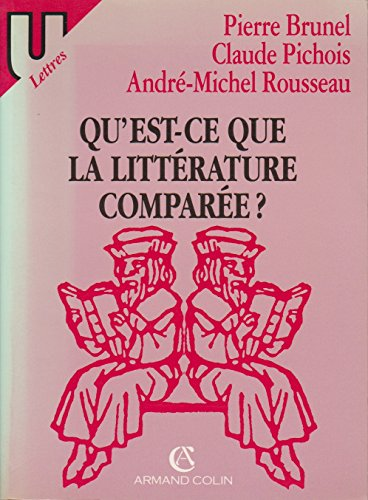 9782200311933: Qu'est-ce que la littérature comparée ? (U Lettres)