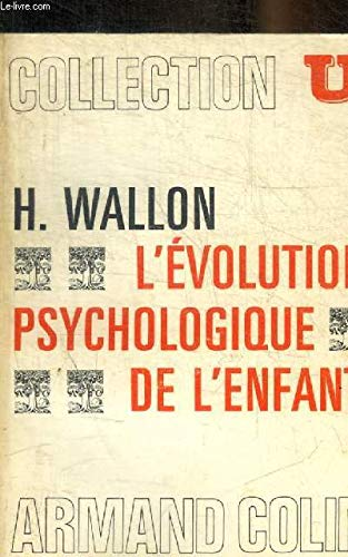 9782200321277: L evolution psychologique de l'enfant