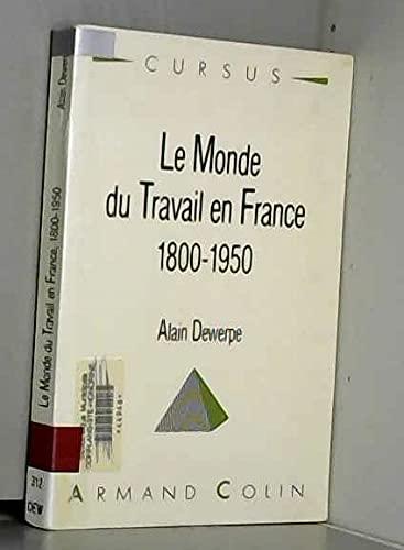 9782200330330: MONDE DU TRAVAIL EN FRANCE