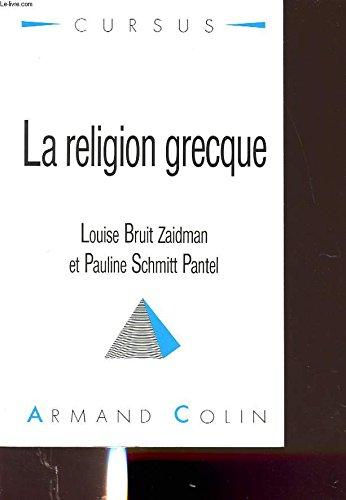 9782200330385: La religion grecque