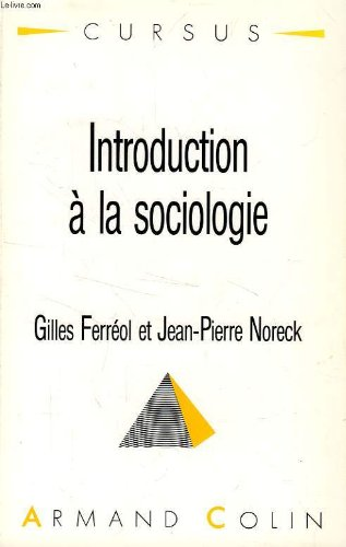 9782200330422: Introduction à la sociologie