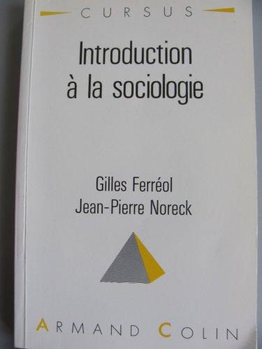 9782200330576: Introduction à la sociologie