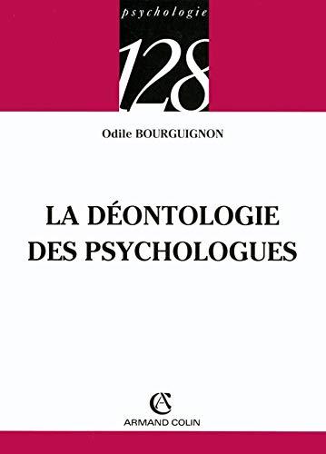 9782200340360: La déontologie des psychologues