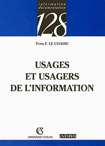 9782200340629: Usages et usagers de l'information
