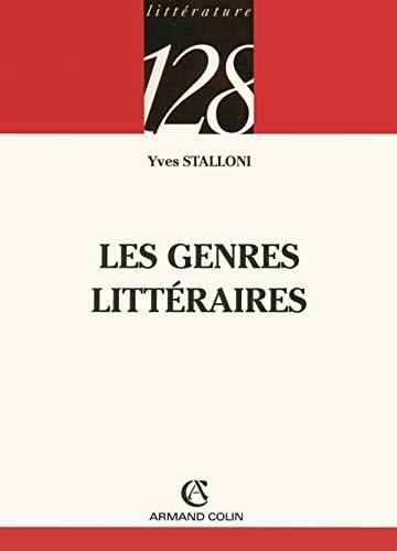 9782200341862: Les genres littéraires