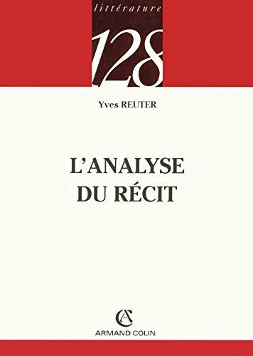 9782200342104: L'analyse du recit (128)