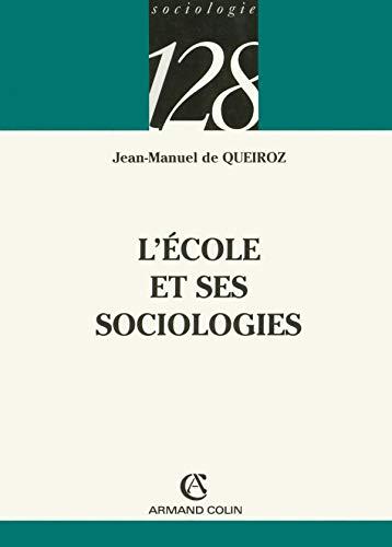9782200342265: L'école et ses sociologies