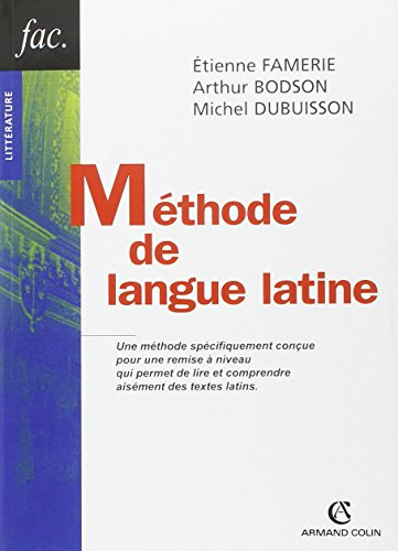 9782200342951: Méthode de langue latine (Hors collection)