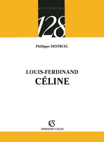 9782200344207: Louis-Ferdinand Céline (French Edition)