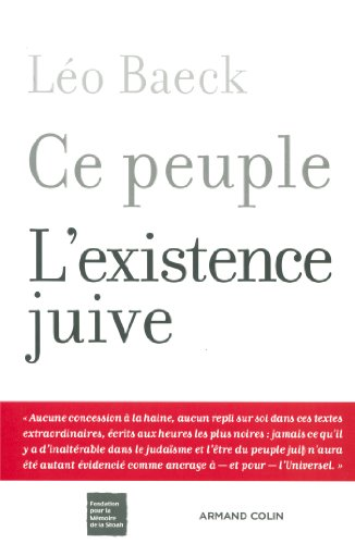 9782200346959: Ce peuple - L'existence juive (Hors collection)
