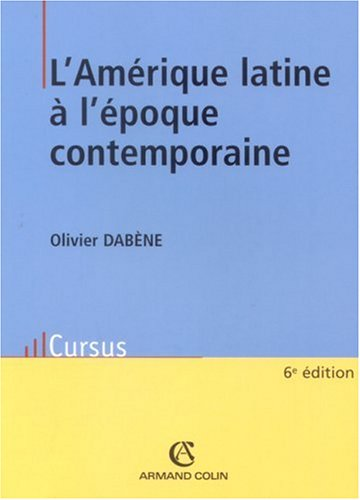 9782200347109: L'Amérique latine à l'époque contemporaine
