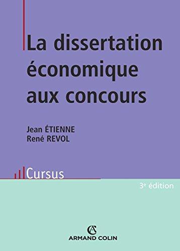 9782200347543: La dissertation économique aux concours