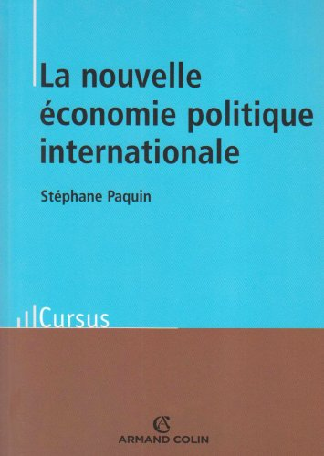 9782200351465: La nouvelle �conomie politique internationale : Th�ories et enjeux