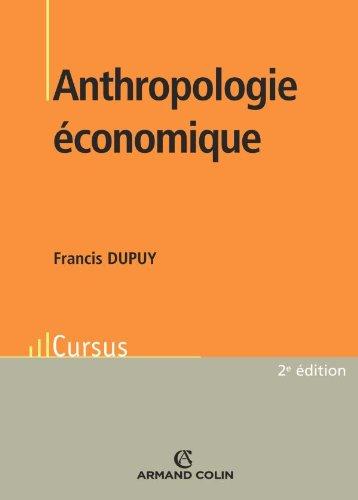 9782200351960: Anthropologie économique